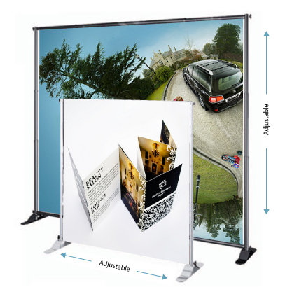 Portable Backdrop Display Malaysia Exhibition Booth