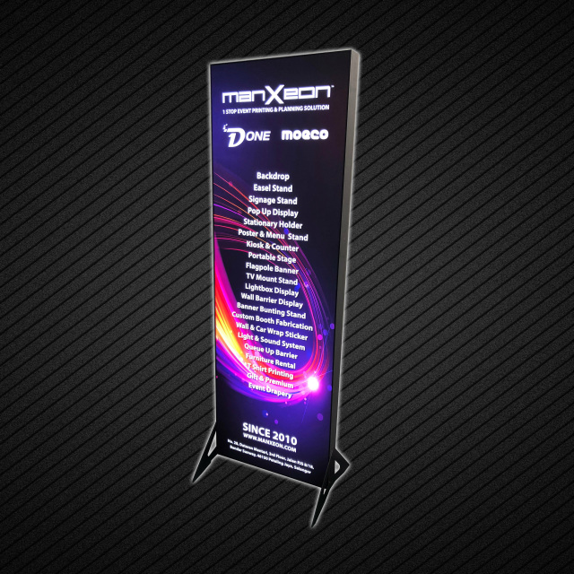 Seg Tension Led Light Box Advertising Wall Poster Display